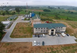 Picture of aerial view of Business Incubation Platform facility